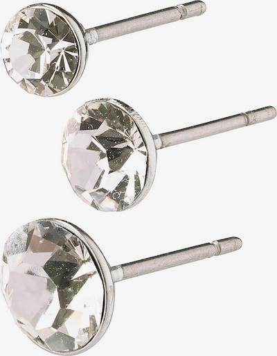 Pilgrim Zestaw biżuterii 'Millie' w kolorze srebrny / przezroczystym, Podgląd produktu