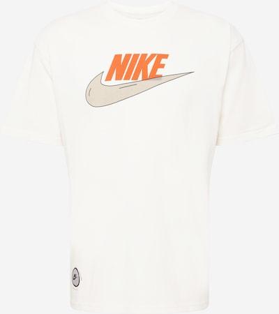 Tricou Nike Sportswear pe galben deschis / gri taupe / portocaliu închis / negru / alb, Vizualizare produs