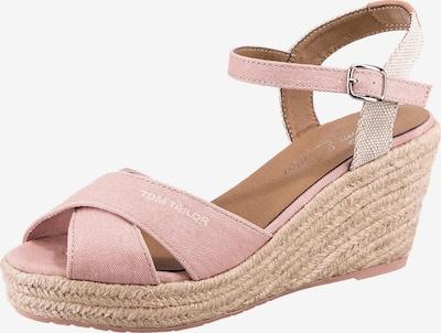 TOM TAILOR Páskové sandály - růžová / bílá, Produkt