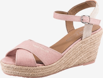 TOM TAILOR Sandály - růžová / bílá, Produkt