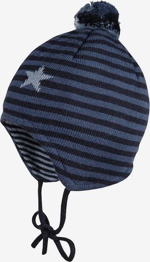MAXIMO Mütze in navy / blue denim / hellblau, Produktansicht