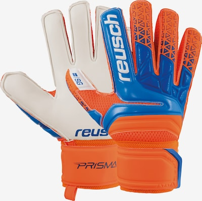 REUSCH Handschuh in beige / himmelblau / dunkelorange, Produktansicht