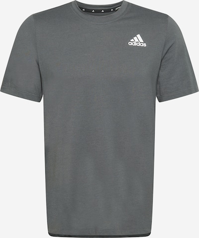 ADIDAS PERFORMANCE Camiseta funcional en gris oscuro, Vista del producto