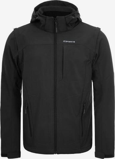 ICEPEAK Funktionsjacke 'LEONIDAS' in schwarz, Produktansicht