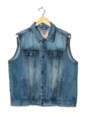 Denim Co. Jeansweste in XL in Blau