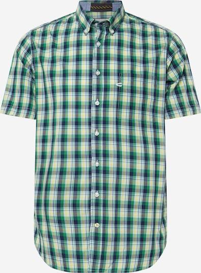 CAMEL ACTIVE Hemd in navy / gelb / grün / weiß, Produktansicht