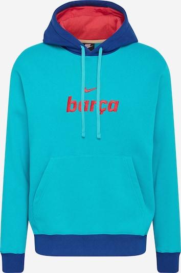 NIKE Bluzka sportowa w kolorze turkusowy / indygo / krwistoczerwonym, Podgląd produktu