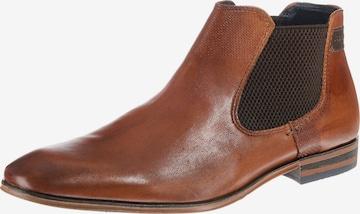 bugatti Chelsea boots 'Mattia' in Brown