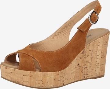 Nero Giardini Sandale in Braun