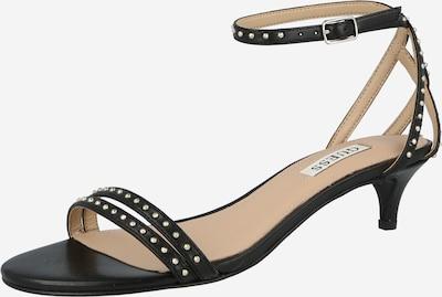 Sandale cu baretă GUESS pe negru, Vizualizare produs