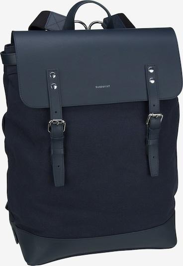 SANDQVIST Laptoprucksack ' Hege Canvas Backpack ' in blau, Produktansicht