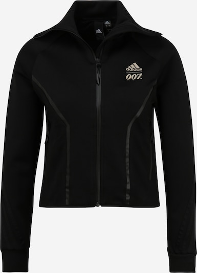 ADIDAS PERFORMANCE Sports jacket in Beige / Grey / Black, Item view