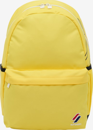 Superdry Rugzak 'Montana' in de kleur Geel / Zwart, Productweergave