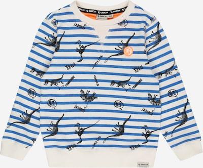 GARCIA Sweatshirt in royalblau / schwarz / offwhite, Produktansicht