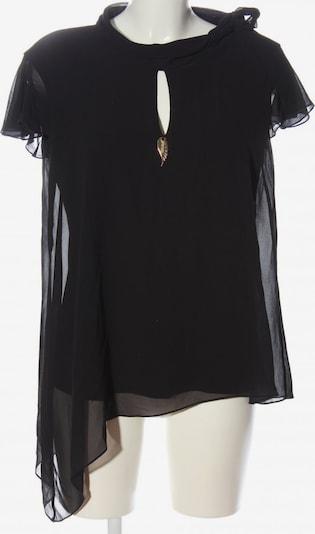 Ricarda M Kurzarm-Bluse in S in schwarz, Produktansicht