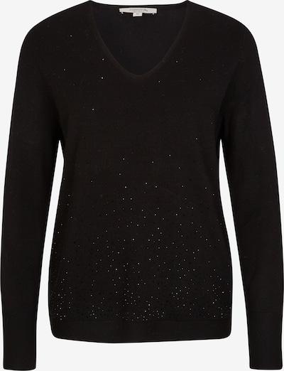comma casual identity Pullover in schwarz, Produktansicht