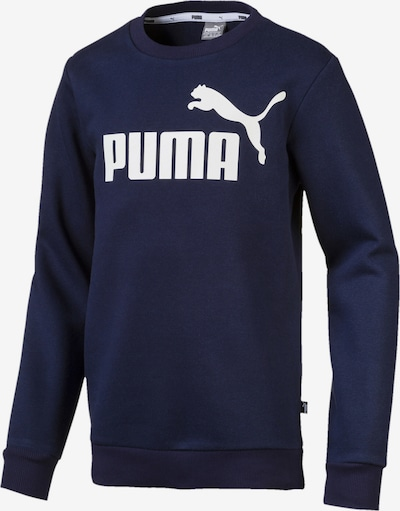 PUMA Sportief sweatshirt in de kleur Navy, Productweergave