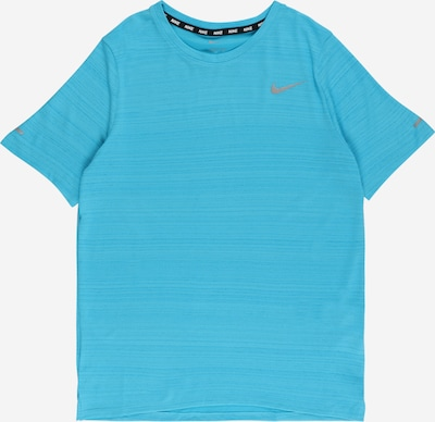 NIKE Sporta krekls 'Miler', krāsa - debeszils, Preces skats