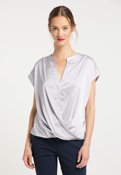 usha BLACK LABEL Bluse in silber, Modelansicht