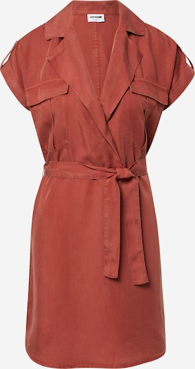 Rochie tip bluză Noisy may pe maro, Vizualizare produs