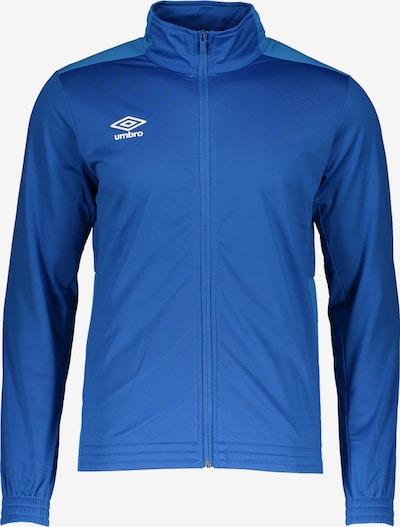 UMBRO Sweatjacke in blau, Produktansicht
