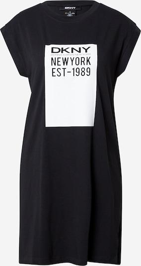 Tricou supradimensional DKNY pe negru / alb, Vizualizare produs