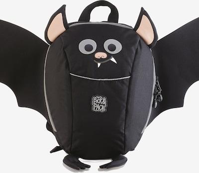 Pick & Pack Rucksack 'Vampire' in nude / schwarz / weiß, Produktansicht