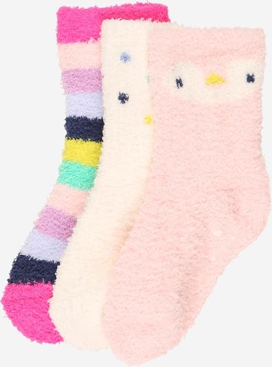 GAP Sokken in de kleur Beige / Gemengde kleuren / Rosa, Productweergave