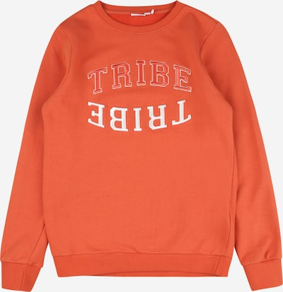 NAME IT Sweatshirt 'SEMAN' in dark orange / white, Item view