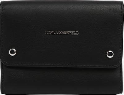 Karl Lagerfeld Portemonnaie in schwarz, Produktansicht