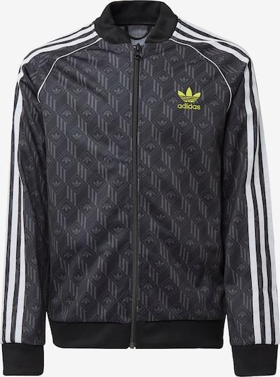 ADIDAS ORIGINALS Jacke in gelb / taupe / schwarz / weiß, Produktansicht