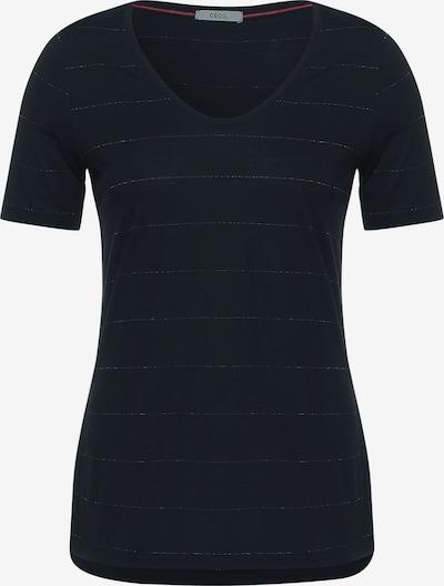CECIL T-Shirt in anthrazit / weiß, Produktansicht
