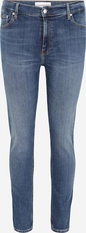 Calvin Klein Jeans Plus Teksapüksid 'SKINNY PLUS', värv sinine