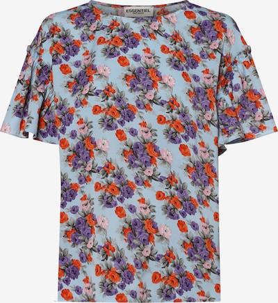 Essentiel Antwerp Shirt in hellblau / rot, Produktansicht