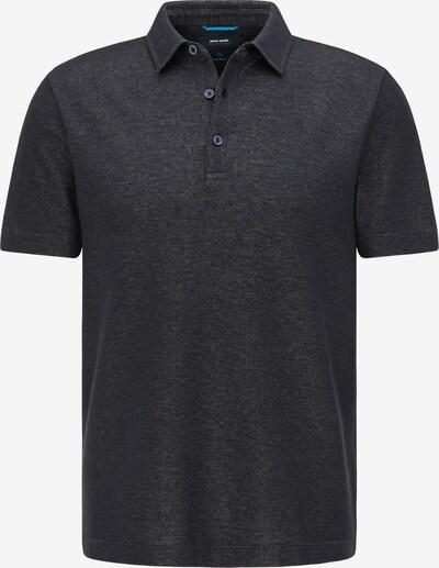 PIERRE CARDIN Poloshirt in schwarzmeliert, Produktansicht