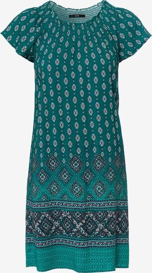 zero Sommerkleid in dunkelgrün / mischfarben, Produktansicht
