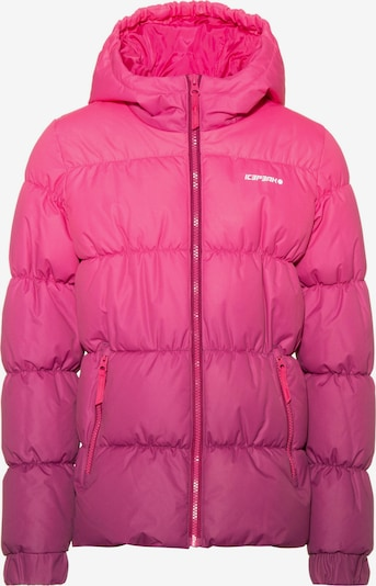 ICEPEAK Steppjacke in pink / dunkelpink, Produktansicht