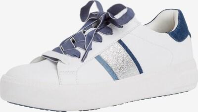 TAMARIS Σνίκερ χαμηλό σε μπλε / λευκό, Άποψη προϊόντος
