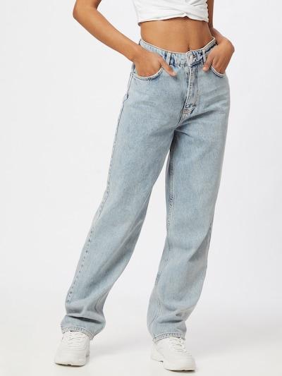 Gina Tricot Jean '90s' en bleu clair, Vue avec modèle