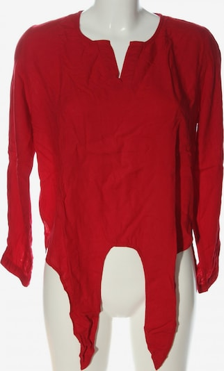 Select Langarm-Bluse in M in rot, Produktansicht