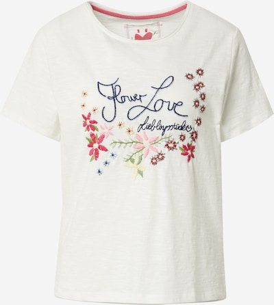 LIEBLINGSSTÜCK T-shirt 'Cila' en mélange de couleurs / blanc cassé, Vue avec produit