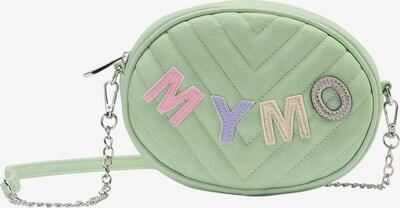 MYMO Clutch in pastellgelb / greige / mint / flieder / rosa, Produktansicht