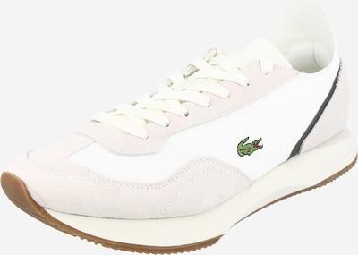 LACOSTE Zemie brīvā laika apavi 'MATCH BREAK' gaiši pelēks / tumši zaļš / melns / balts, Preces skats