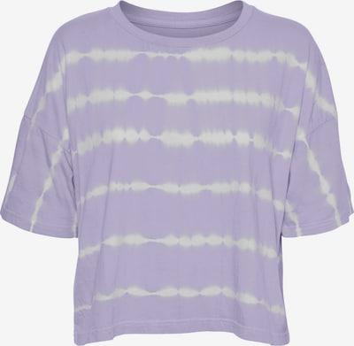 Noisy may T-Shirt 'Buster' in hellgrau / pastelllila, Produktansicht