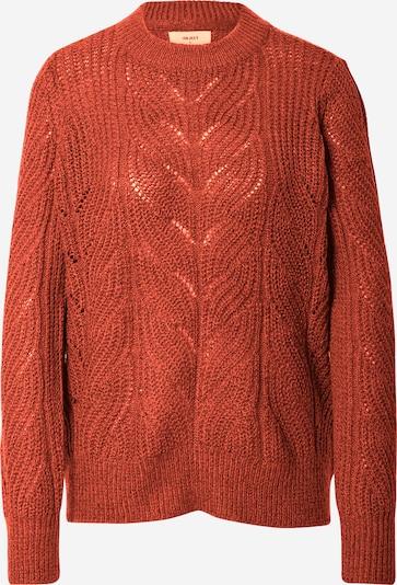 OBJECT Pullover 'Stella' in rostbraun, Produktansicht