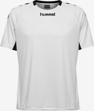 Hummel T-Shirt in schwarz / weiß: Frontalansicht