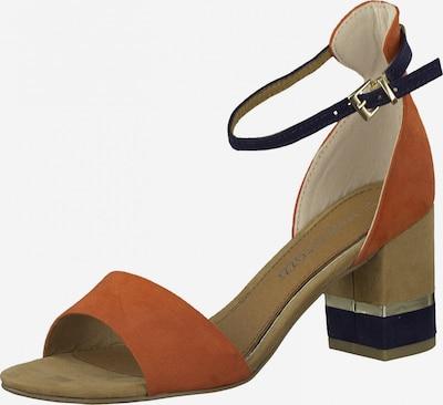 MARCO TOZZI Sandály - námořnická modř / oranžová, Produkt