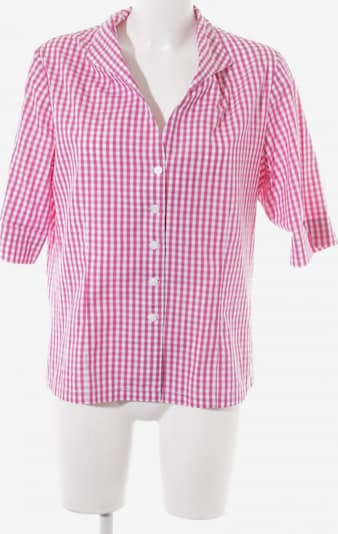 B.M.-company Kurzarm-Bluse in XL in lila / weiß, Produktansicht