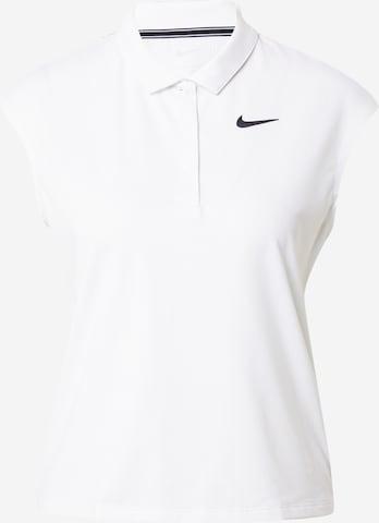 T-shirt fonctionnel 'Victory' NIKE en blanc