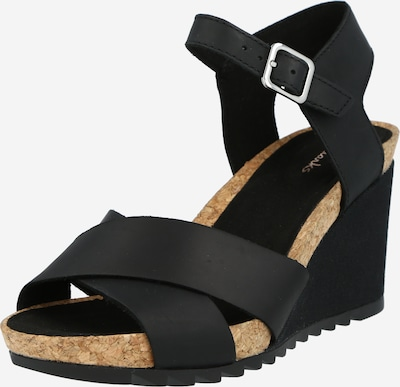 CLARKS Strap sandal 'Sun' in Black, Item view